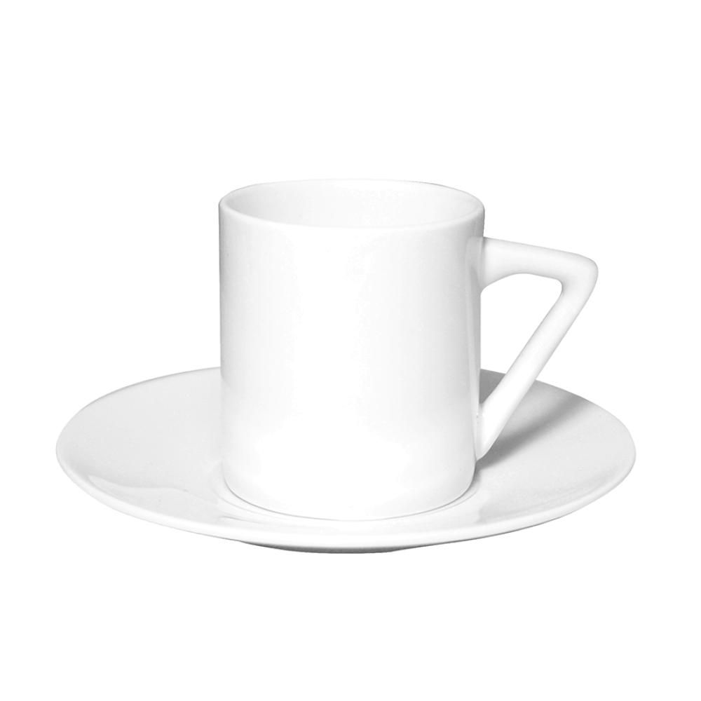 Filiżanka do espresso ze spodkiem porcelanowa