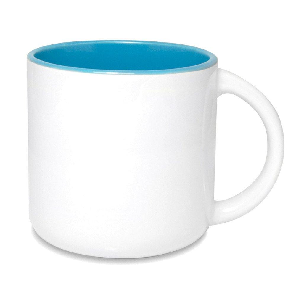 Kubek Olimp szeroki niebieski