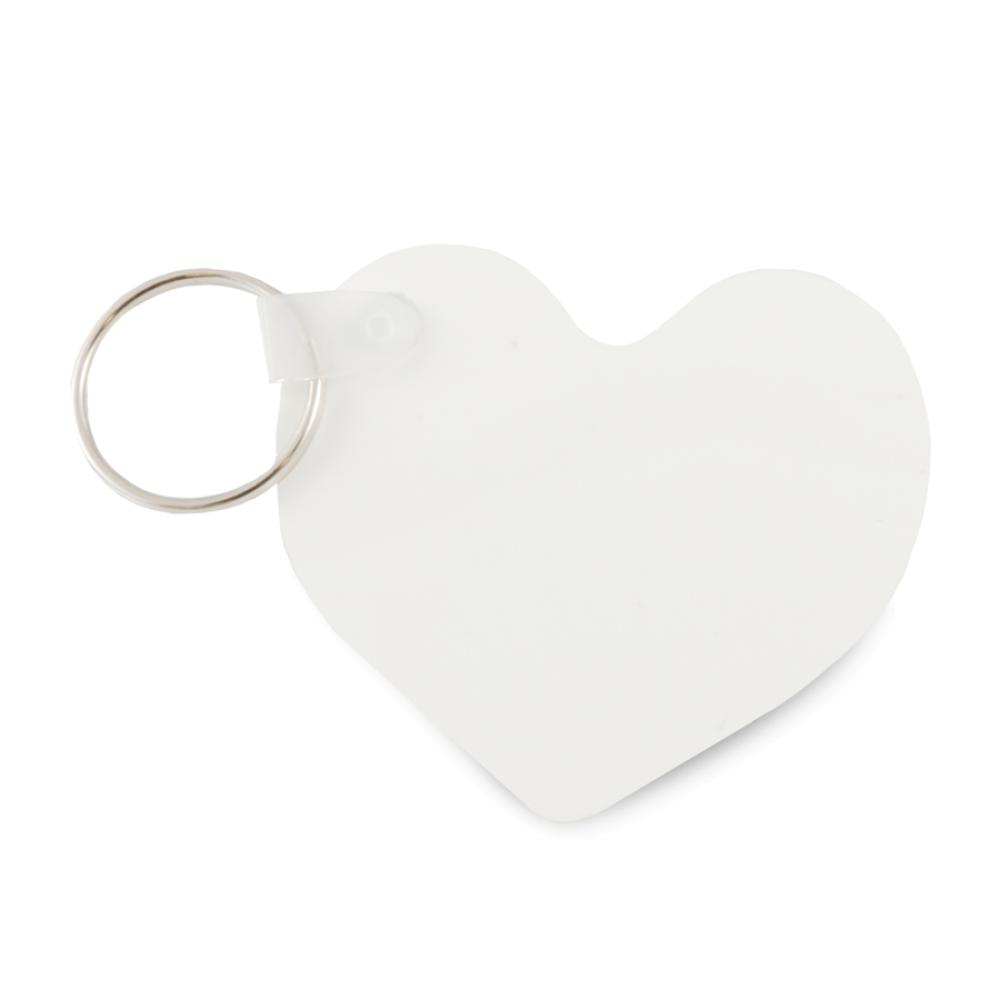 Brelok polimerowy serce (dwustronny)