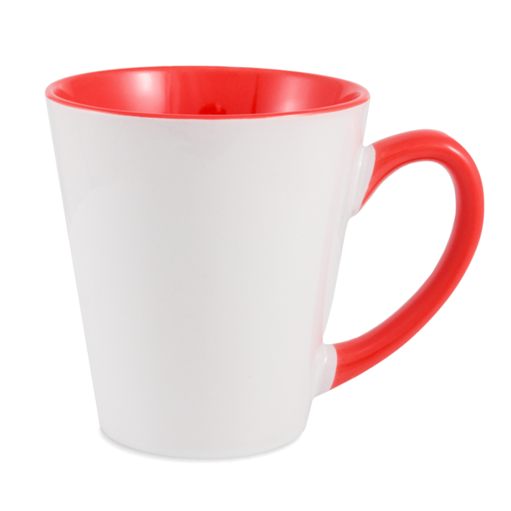 Kubek Gaja Latte czerwony