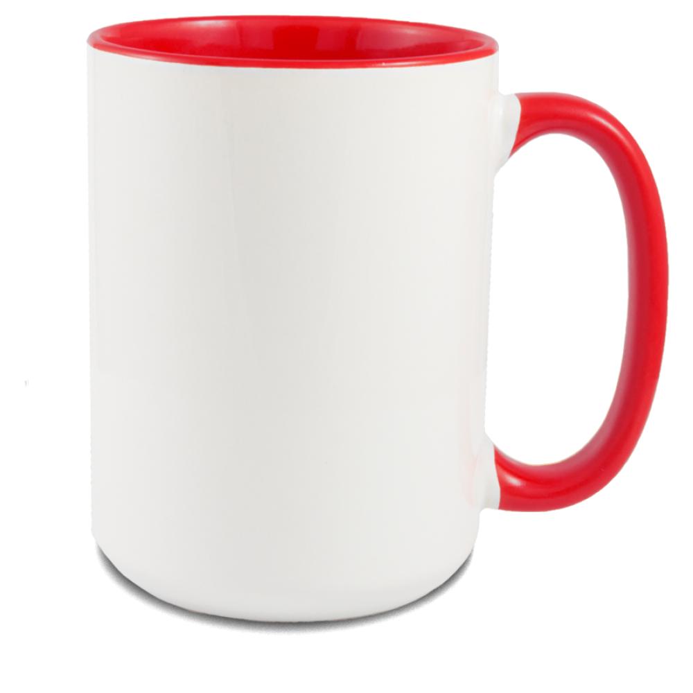 Kubek Gaja XL czerwony