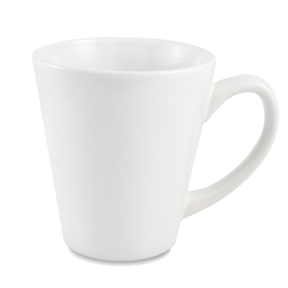 Kubek latte biały