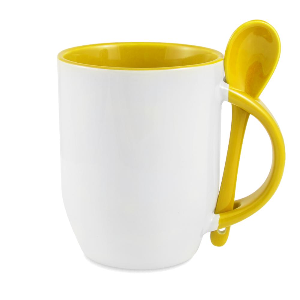 Kubek Posejdon żółty