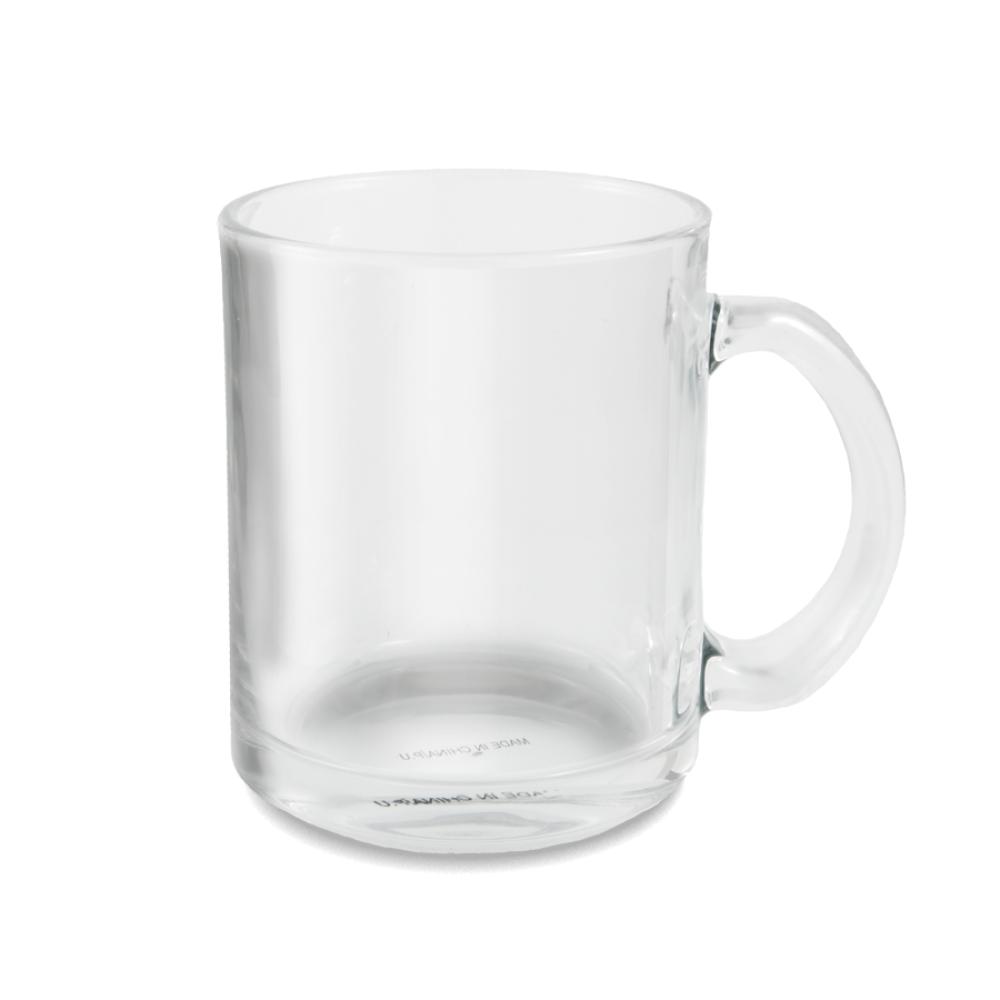 Kubek szklany z nadrukiem
