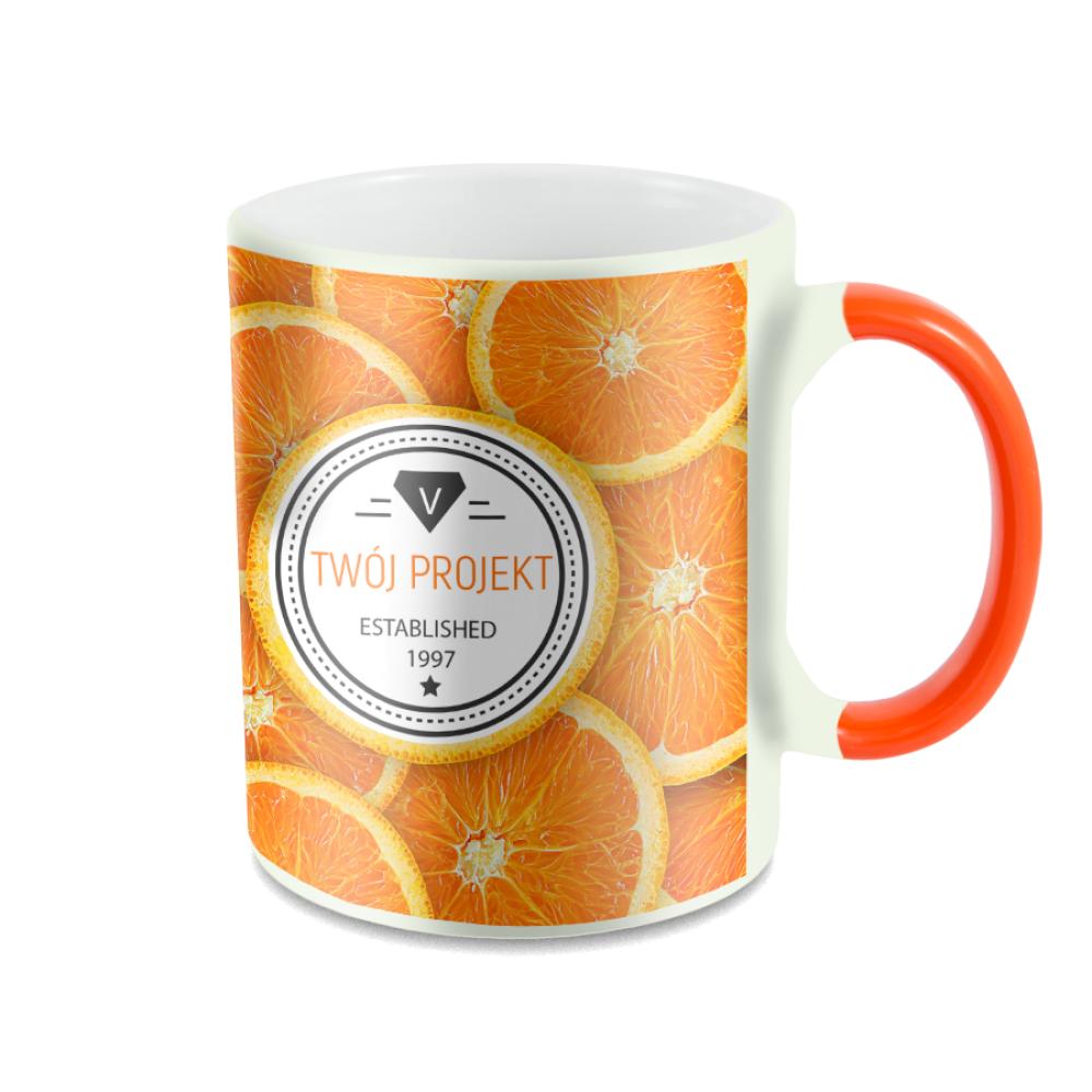 Kubek Magiczny pomarańczowy