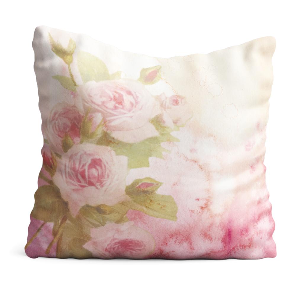 Poduszka Róże pastelowe