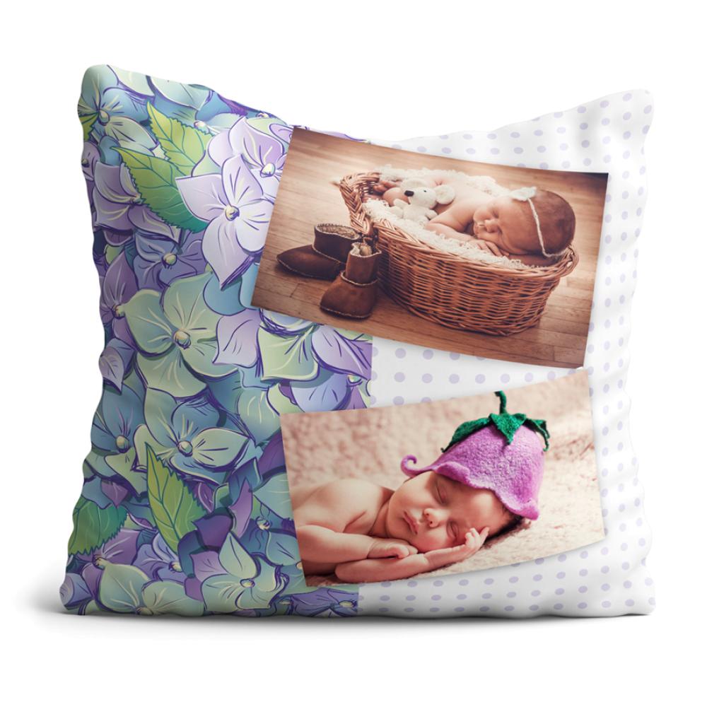 Poduszka Kwiatki Violet