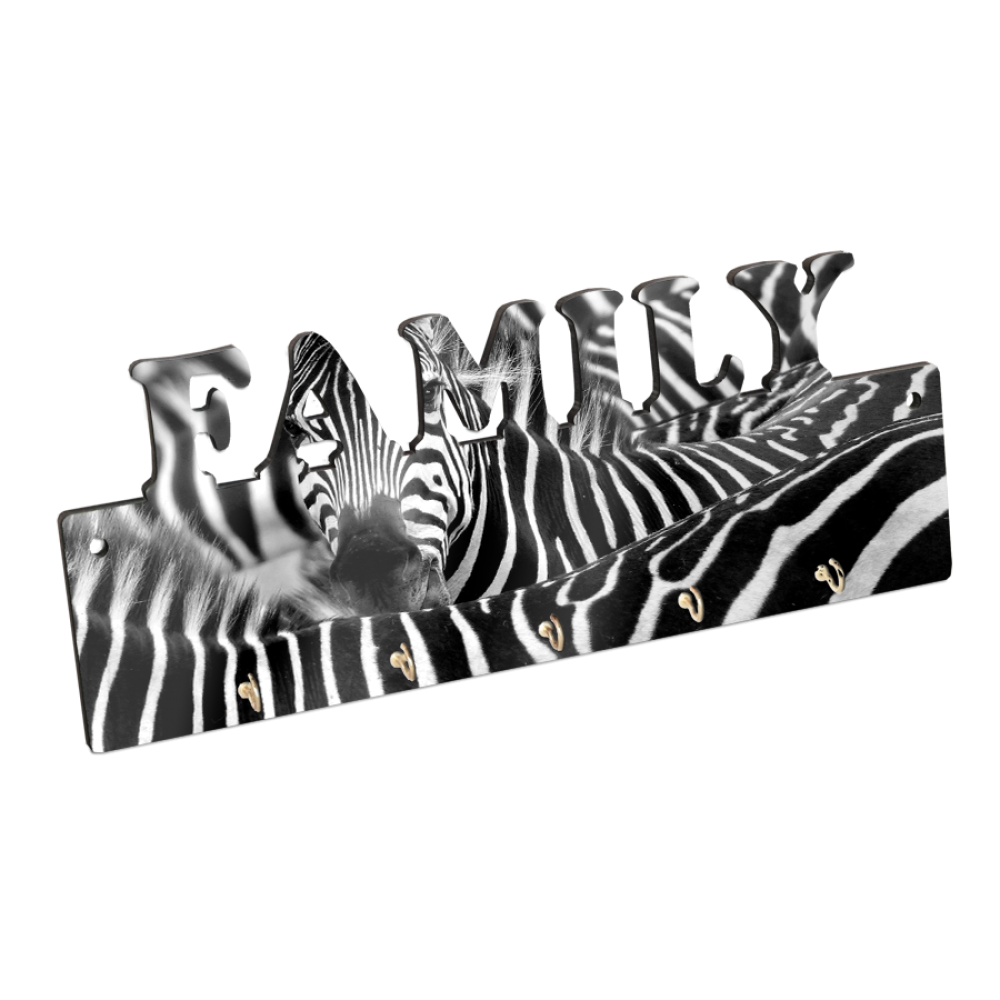 Wieszak na klucze MDF FAMILY