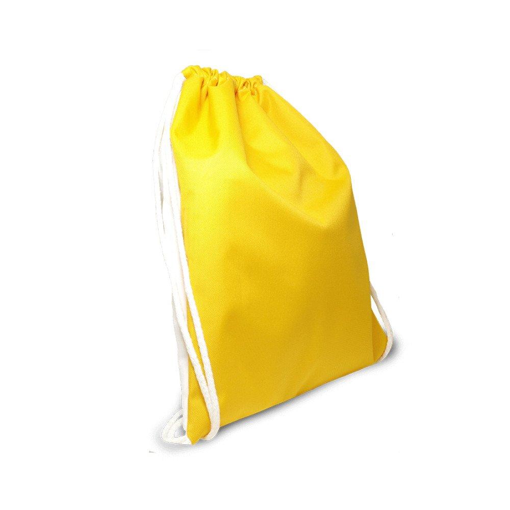 Plecak worek dziecięcy żółty z nadrukiem
