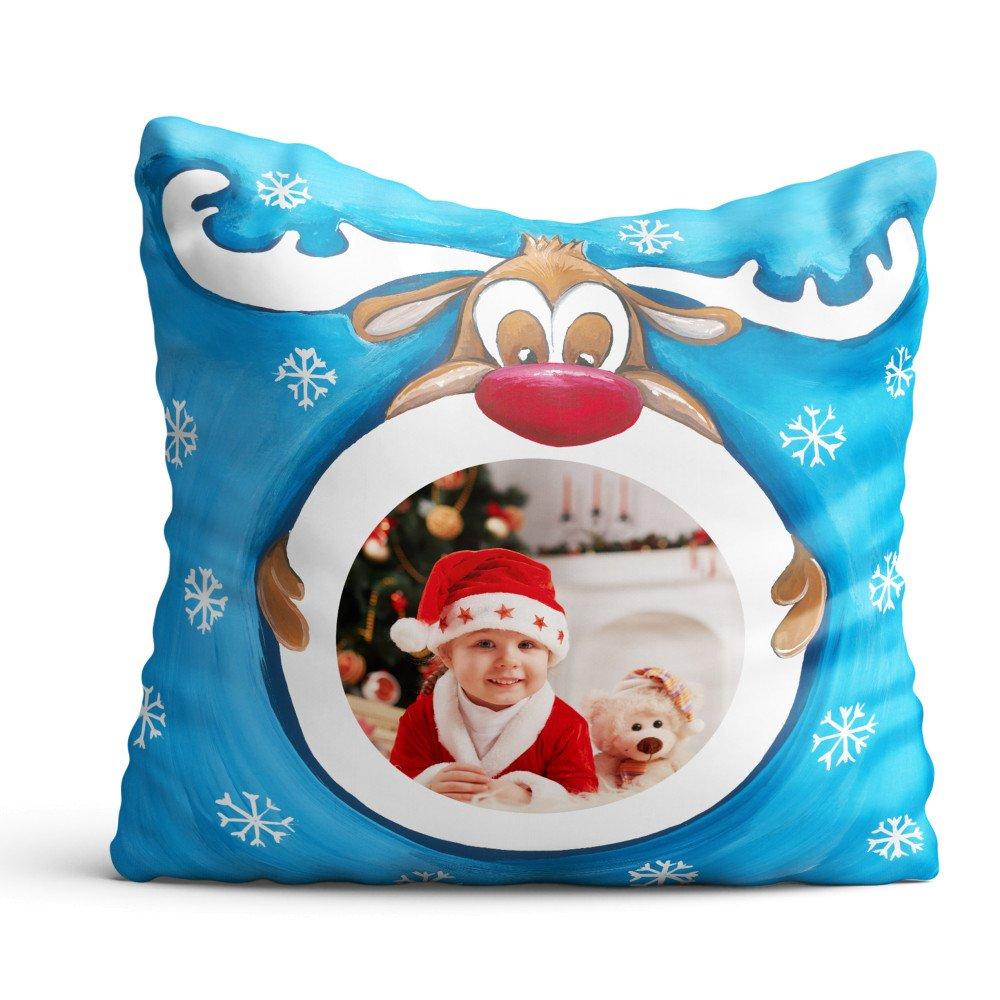 Poduszka z Mikołajem