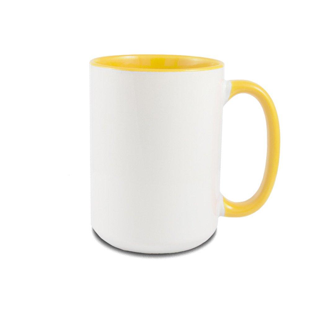 Kubek Gaja XL żółty