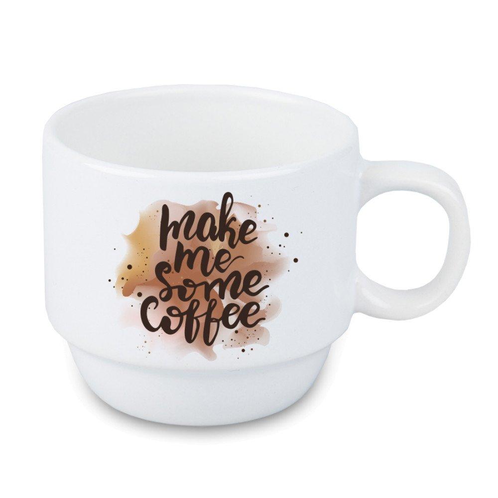 Kubek biały coffee mini 120ml