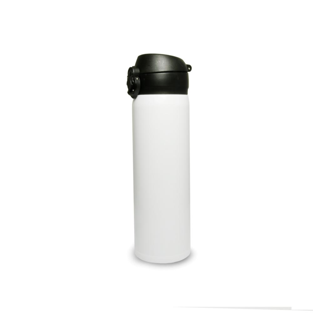 Stalowa termo butla 500  ml z zamknięciem flip top - biała