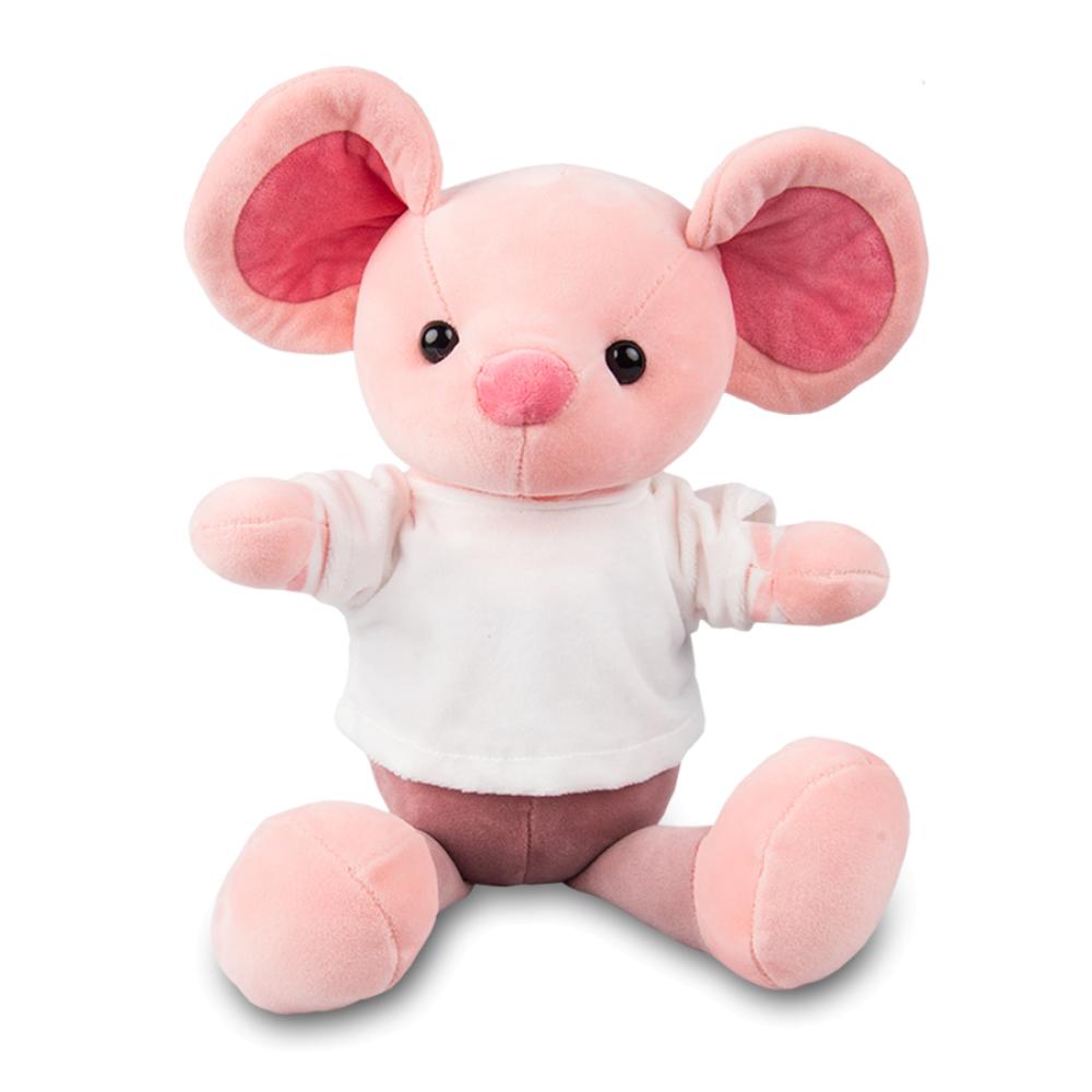 Maskotka Myszka różowa