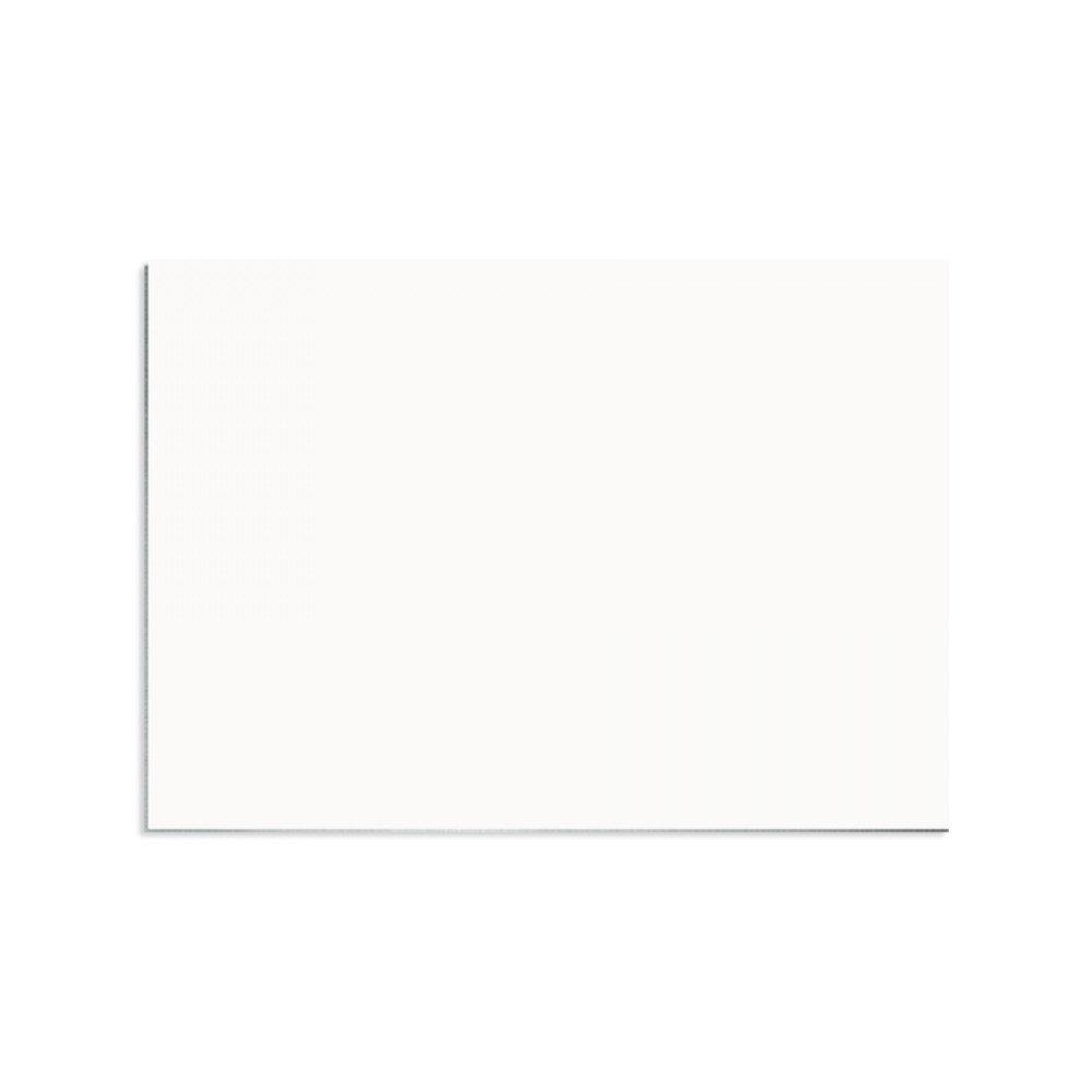 Plakietka imienna ostry narożnik (aluminium) biała 5,08x8,89