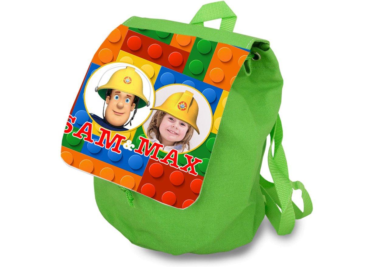 Plecak dziecięcy zielony