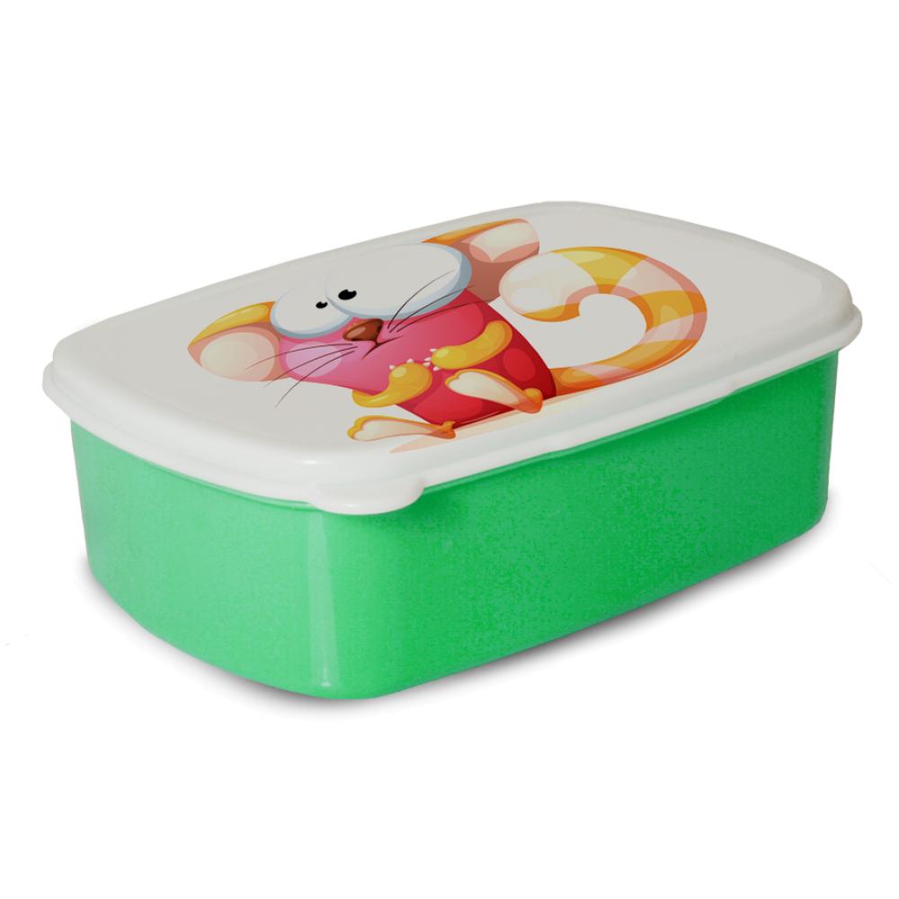 Pudełko śniadaniowe - Jasno zielone