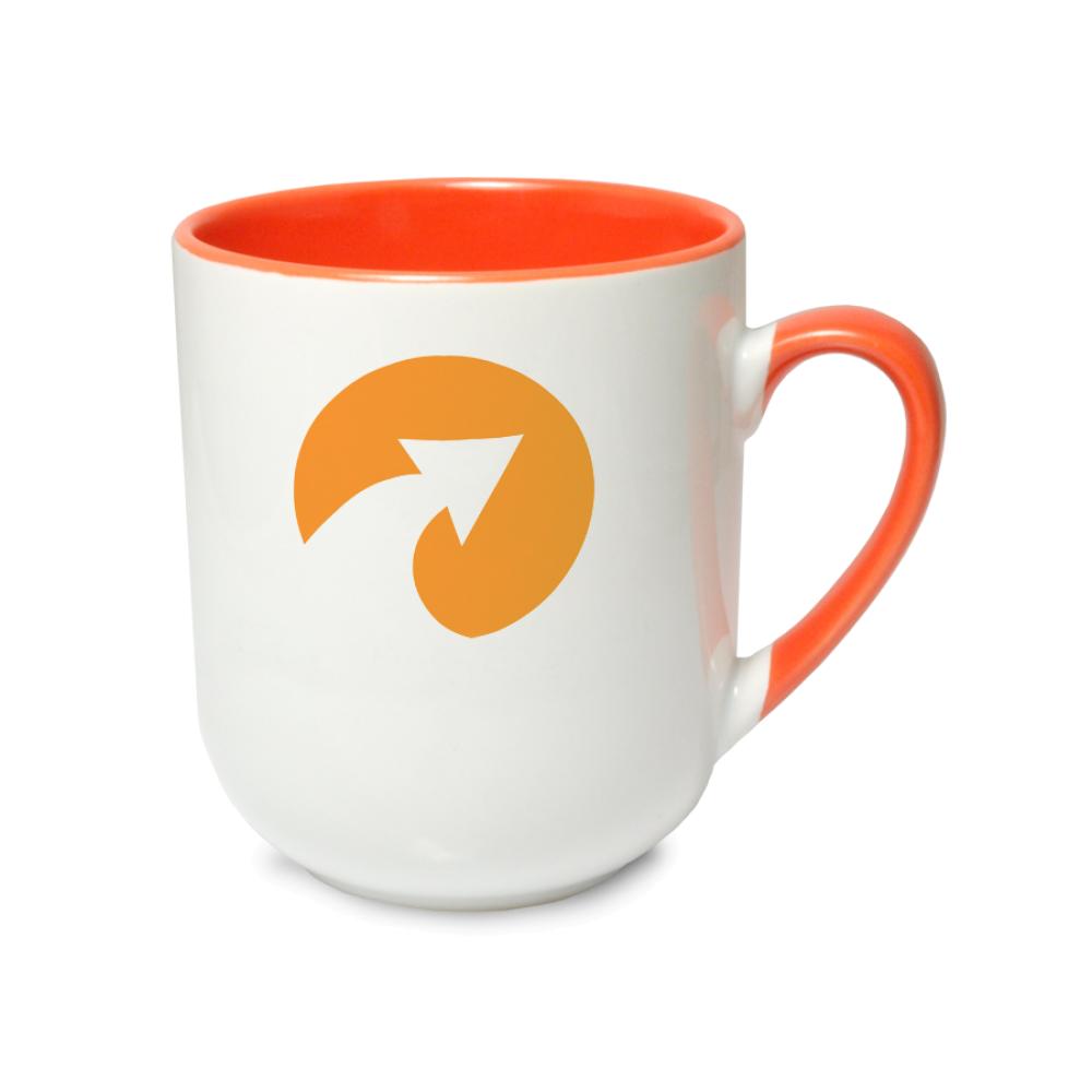 Kubek coffee Combo pomarańczowy