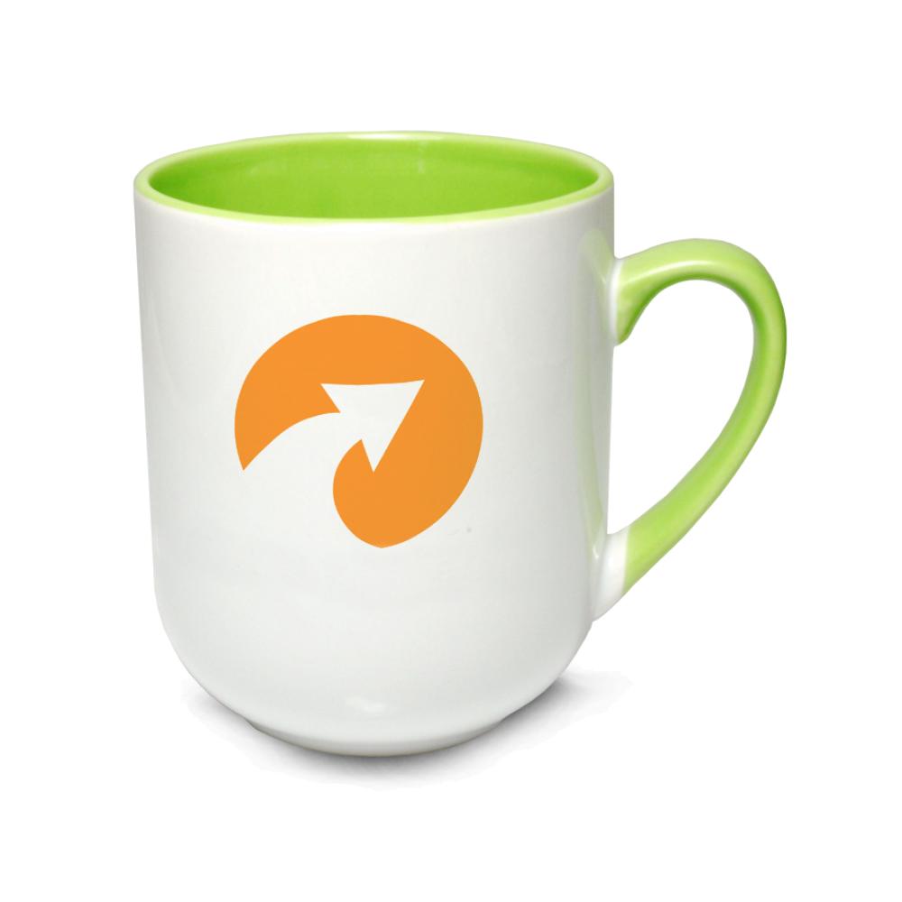 Kubek coffee Combo jasnozielony