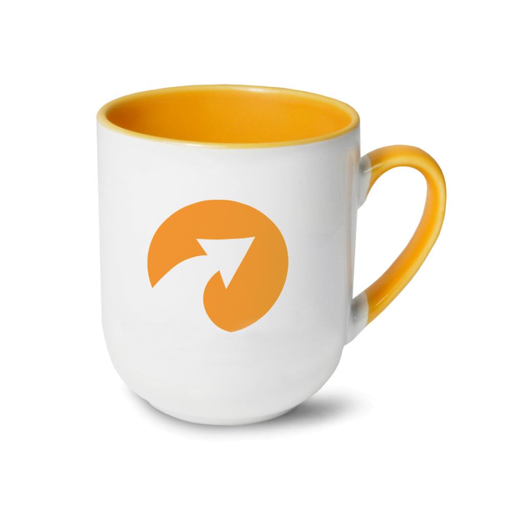 Kubek coffee Combo żółty