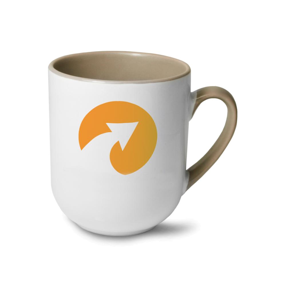 Kubek coffee Combo szary
