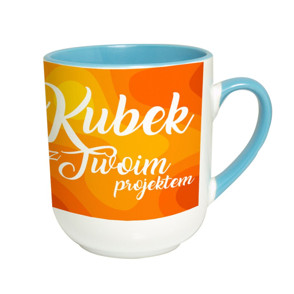 Kubek coffee Combo niebieski